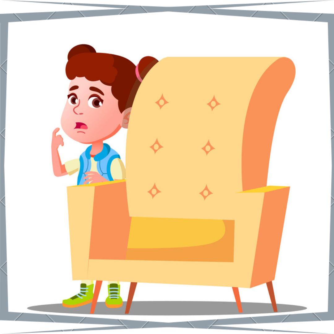 PTSD symptoms in children_ a frightened child
