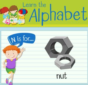 flashcards for children: learn the alphabet