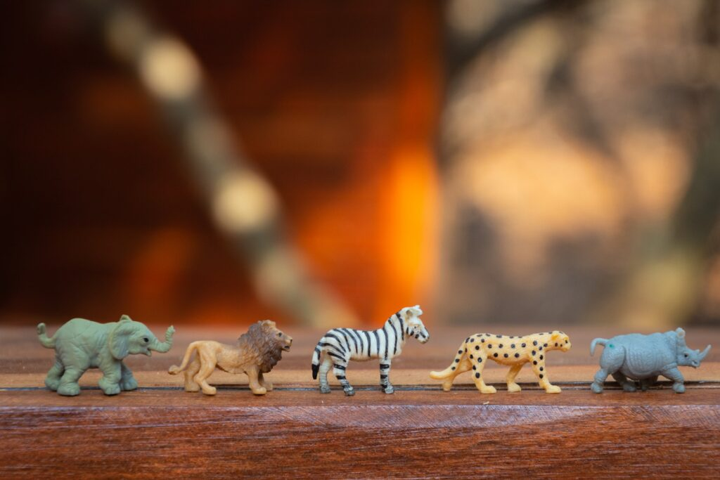 animal toys for playing
