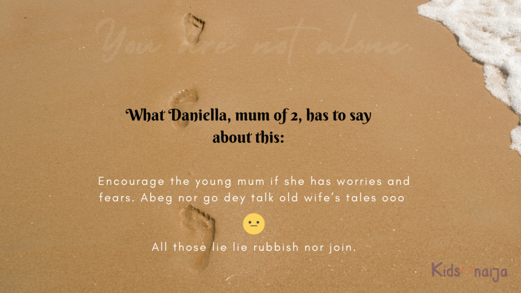 Encourage and support mum